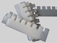 щетки очистки верхнего решета К-527